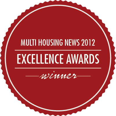 Cardinal Group, Multi Housing News 2012 Excellence Awards Winner