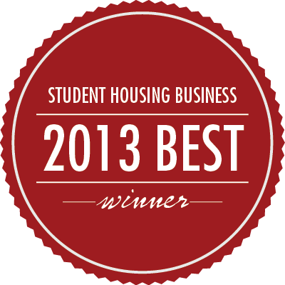 Student Housing Business 2013 Best Award Winner, Cardinal Group